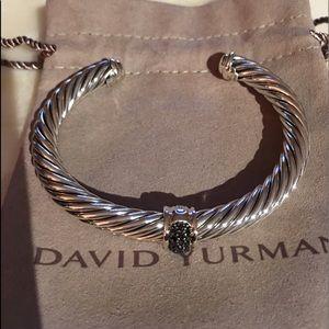 David Yurman Diamond Station Black Diamond Br